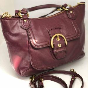 COACH Vintage Burgundy Shoulder Bag